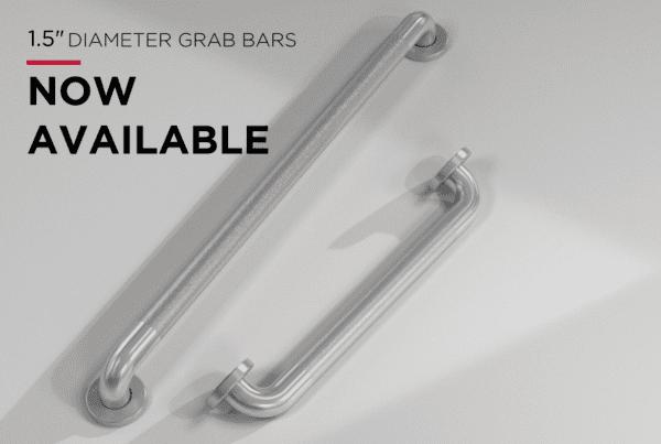 1.5 diameter grab bars