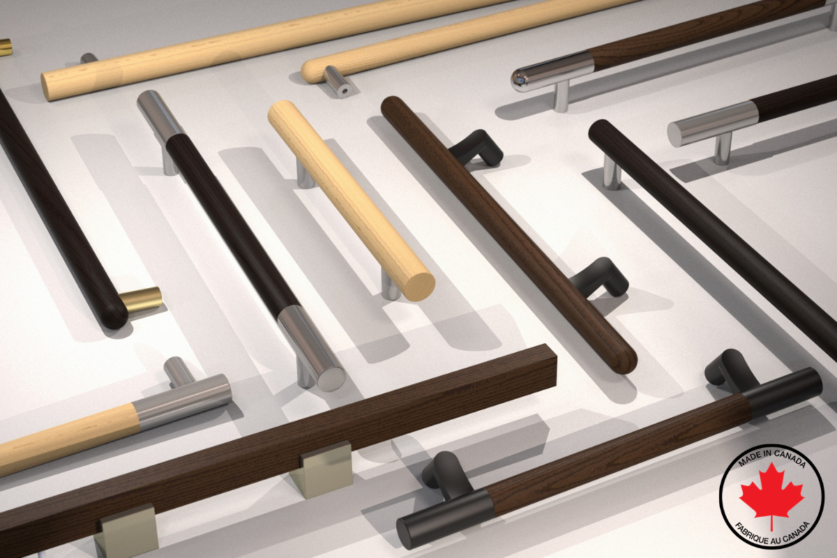 Product Feature: Wood Door Pulls Crafted in Canada