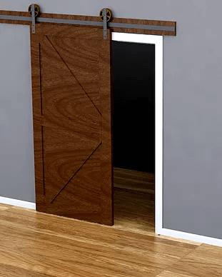 Barn Door with Fantom Stop